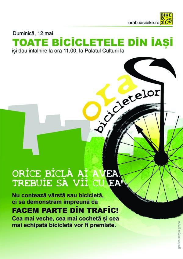 Afis Ora Bicicletelor
