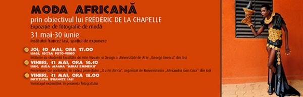 Moda africană, prin obiectivul lui Frédéric de la Chapelle/ Expoziție foto
