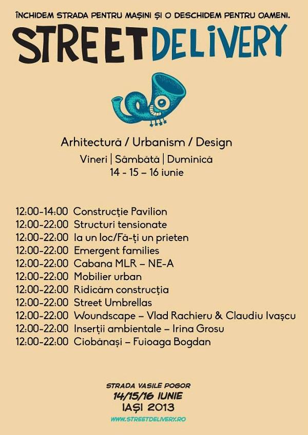 Street Delivery/ arhitectura program