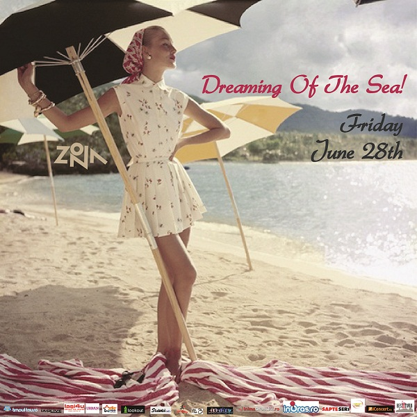 DREAMING OF THE SEA @ ZONA/ 28 iunie/ afis iasi