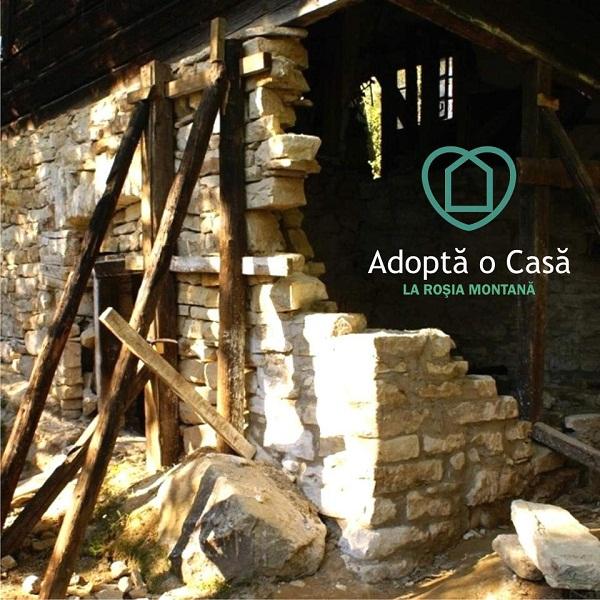 Adoptă o casă la Roșia Montană/ campanie foto