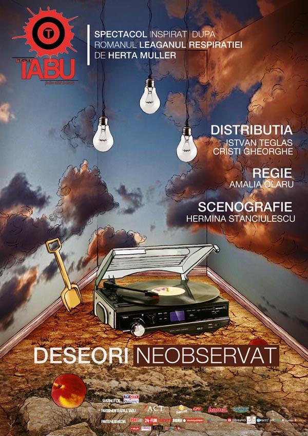 Deseori neobservat - Teatrul Tabu, Bucuresti