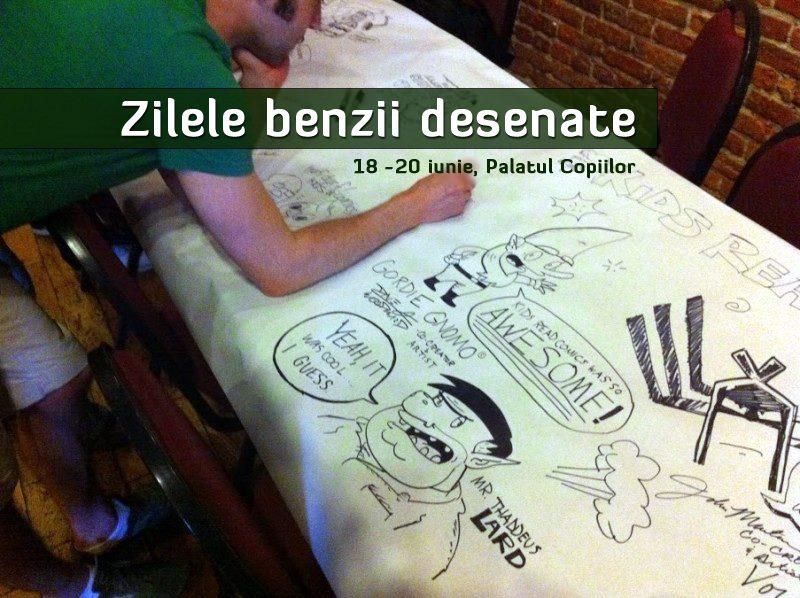 Zilele Benzilor Desenate/ 18-20 iunie 2013/ FIE Iasi