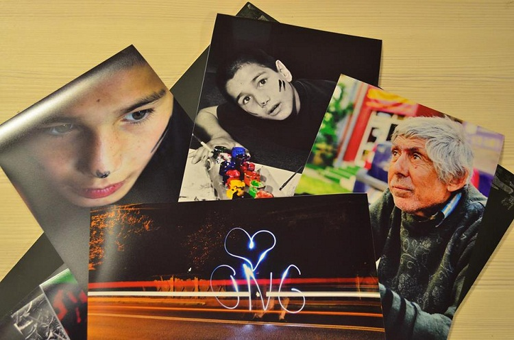 """""""Youth FotoVideoTek"""" – poveşti sociale şi culturale într-o expoziţie fotografică/ afis iasi"""
