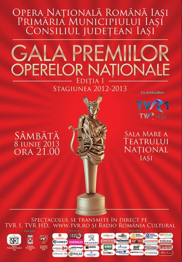 gala premii opere nationale ref Gala Premiilor Operelor Naționale