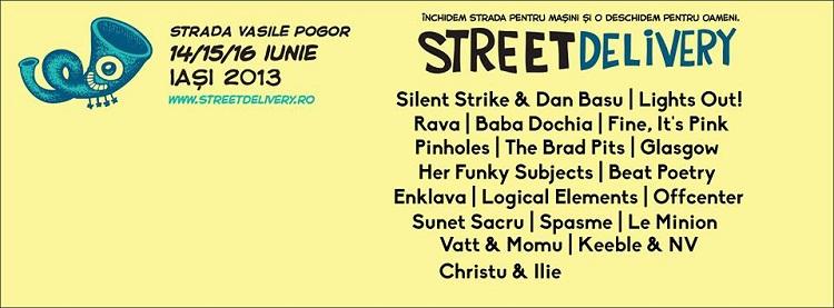 Street Delivery Iași 2013/ Program