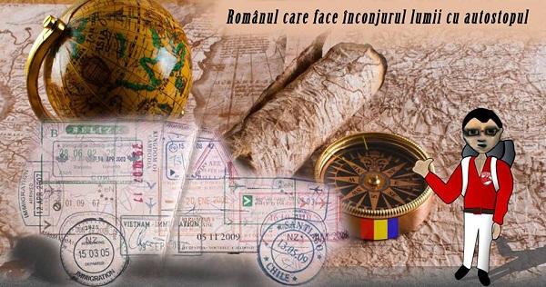 Întâlnire la Iași cu primul român care face înconjurul lumii cu autostopul/ foto