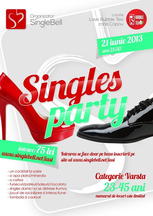 Singles Party, petrecere pentru cei singuri/ afis iasi