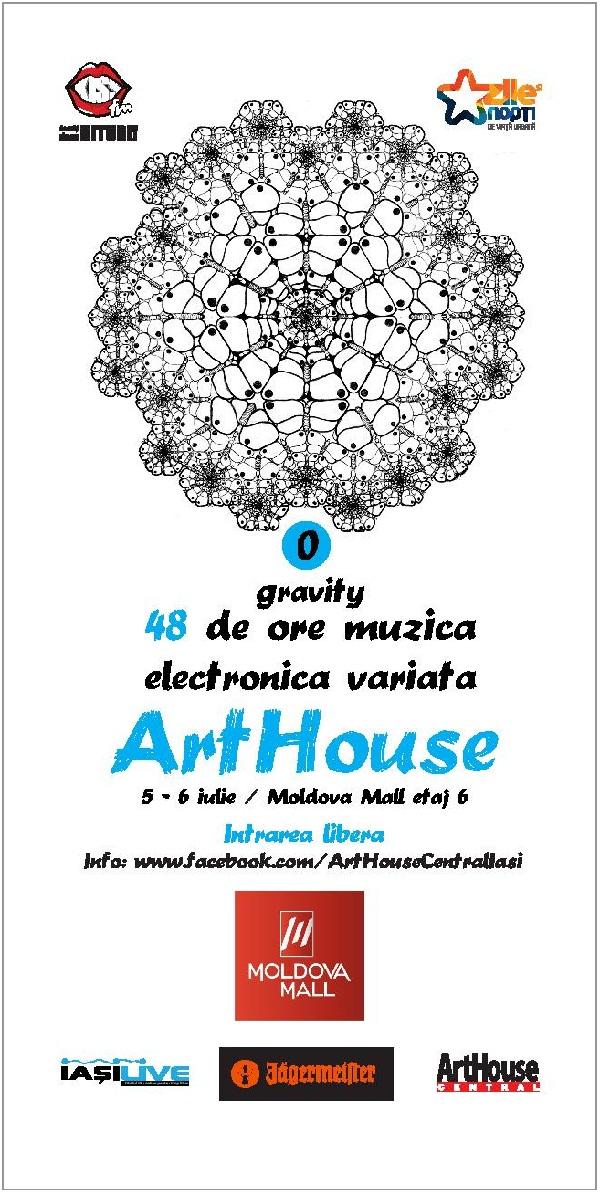 "48 de ore de muzica electro in ""0 gravity""/ 5-6 iulie/ afis"