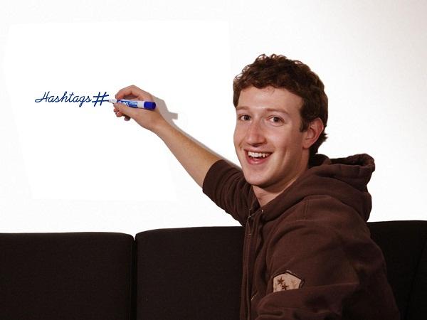 Ce sunt #hashtag-urile și cum le folosim/ foto mark zuckerberg facebook
