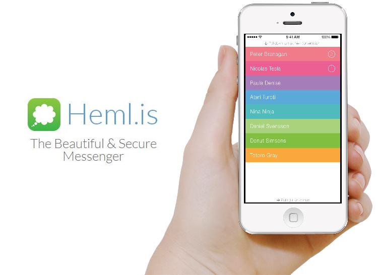 Mesajele text de pe smartphone trimise cu Hemlis nu vor putea fi interceptate/ foto gadget my love
