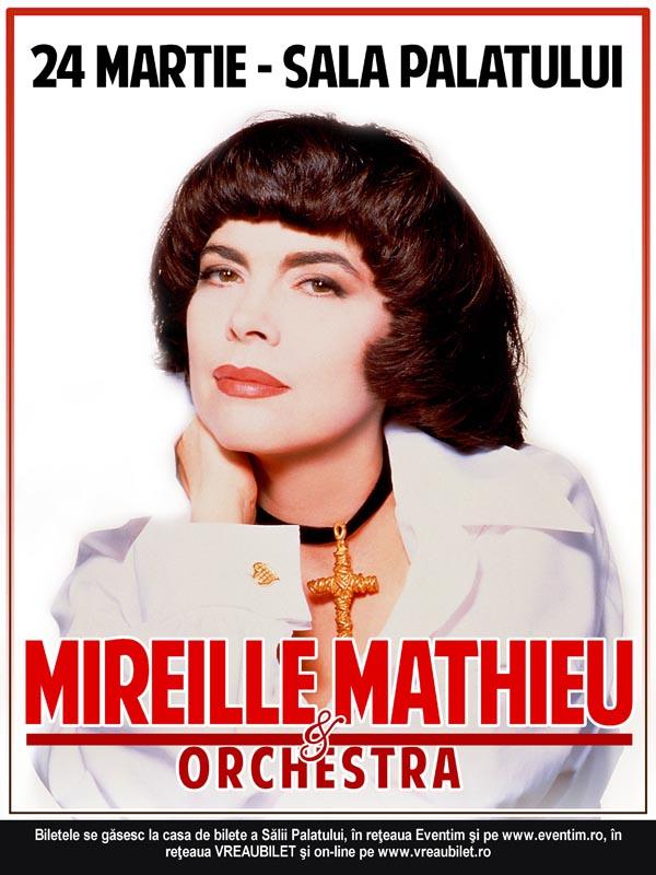 Mireille Mathieu afis