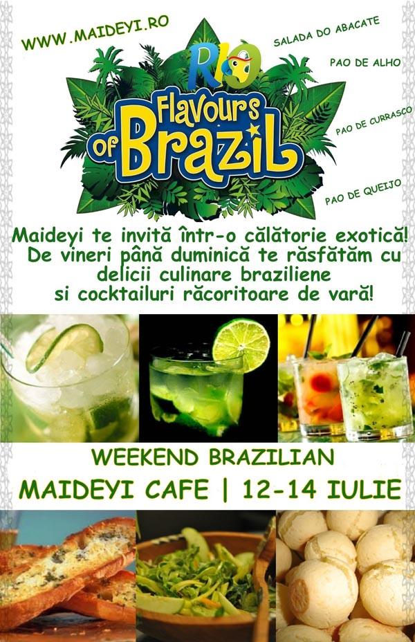 Weekend brazilian la Maideyi