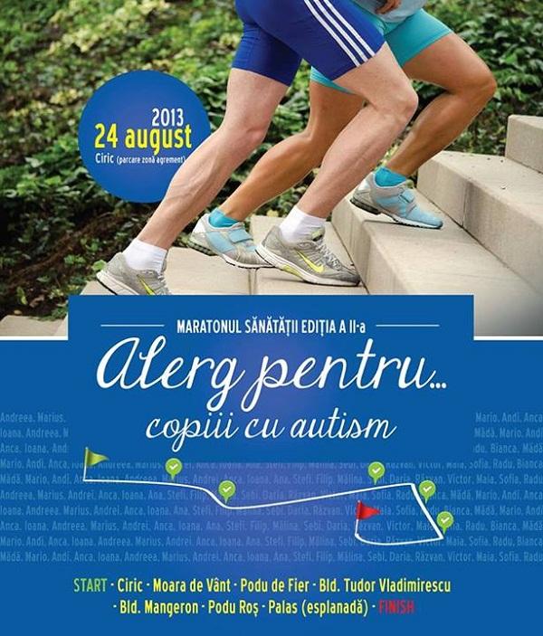 """""""Alerg pentru... copiii cu autism"""" pe 24 august/ afis"""