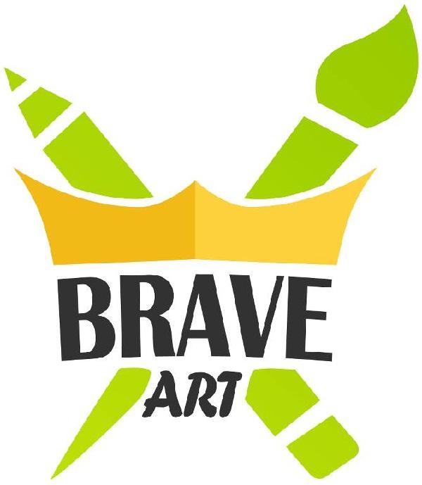 Expoziție de carnețele BraveArt/ 6-7 iulie/ logo iasi