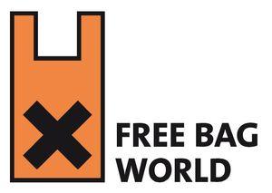 """Săptămâna Internațională """"Fără Pungi de Plastic""""/ 3-10 iulie/ logo"""