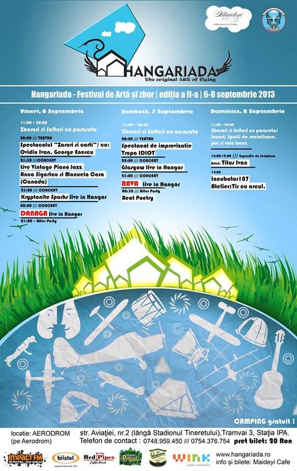 hangariada-festival-de-arta-si-zbot-aerodromul-alexandru-mate-iasi-teatru-zbor-muzica-petrecere-afis-septembrie-2013