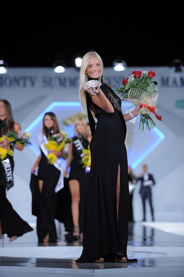 Malvina Chiriac, castigatoarea Black Sea Model Awards 2012