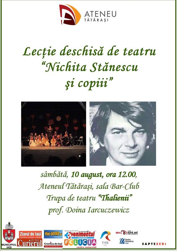 nichita-stanescu-ateneul-tatarasi-iasi-lectie-deschisa-copii-teatru