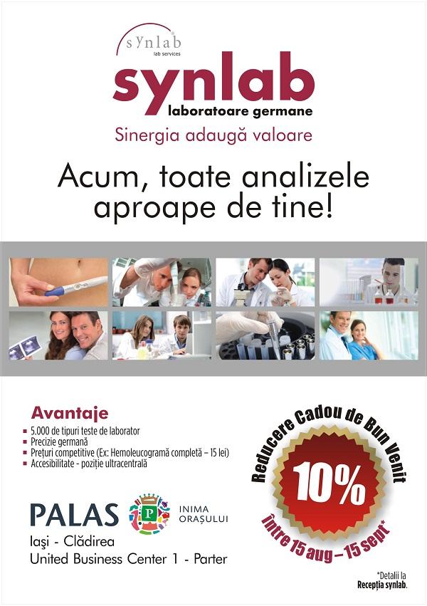 grup-international-laboratoare-synlab-servicii-medicale-iasi-palas-centru-romania-united-business-center-afis-reduceri-2013