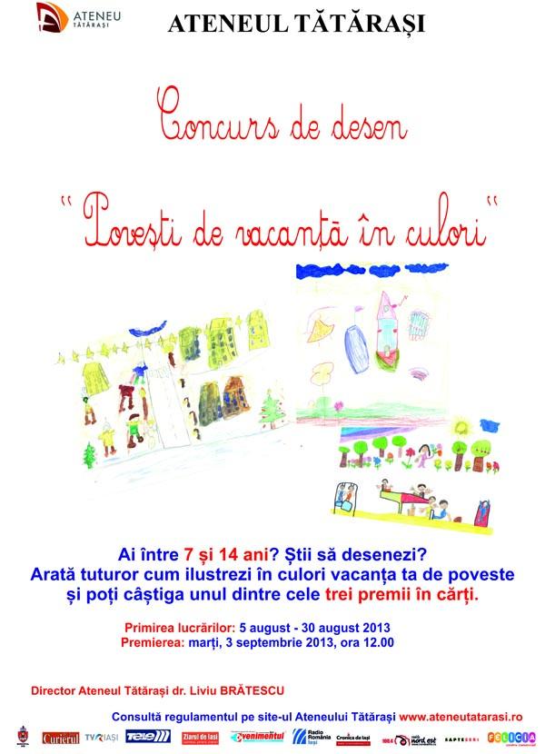 Concurs desene - Ateneul Tatarasi