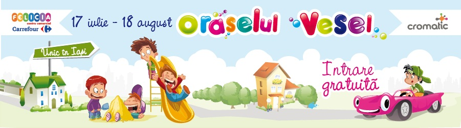 Orăşelul Vesel din Iași – distracţia garantată a copilului tău/ foto carrefour felicia iasi