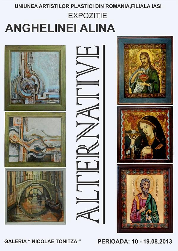 expozitie-de-pictura-iasi-alternative-alina-anghelinei-galeria-de-arta-nicolae-tonitza-lapusneanu-uniunea-artistilor-din-romania-afis