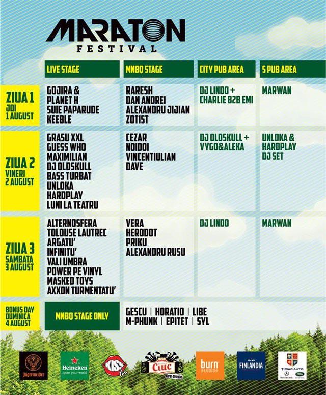 Programul Maraton Festival
