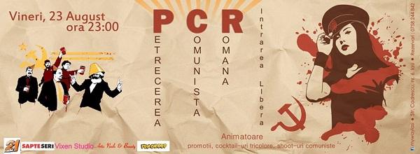 pcr-petrecere-comunista-romana-iasi-my-way-live-music-pub-iasi-afis