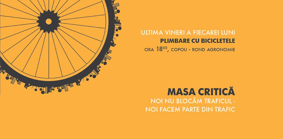 Masa Critica – plimbare cu bicicletele in ultima vineri a fiecarei luni