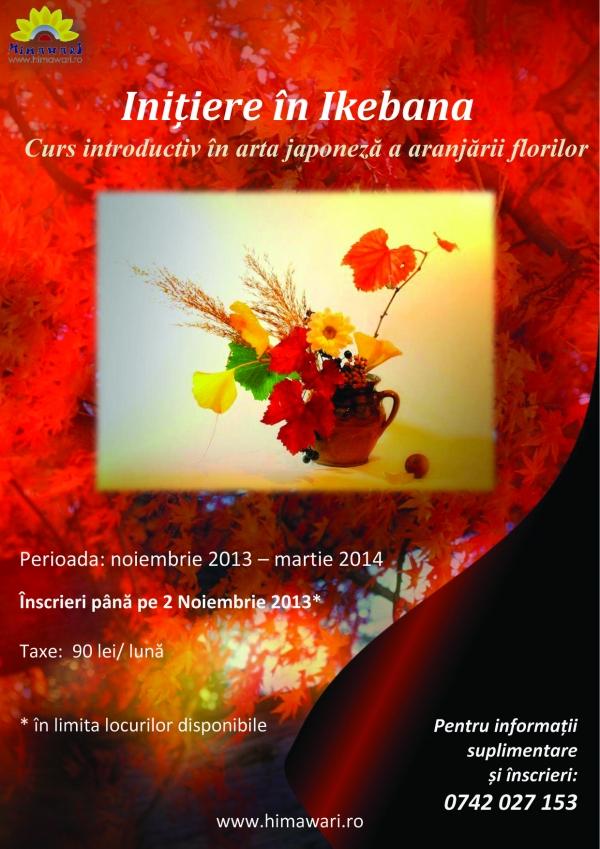 cursuri-initiere-ikenana-arta-japoneza-a-aranjamentelor-florale-asociatia-romano-japoneza-himawari-iasi-afis
