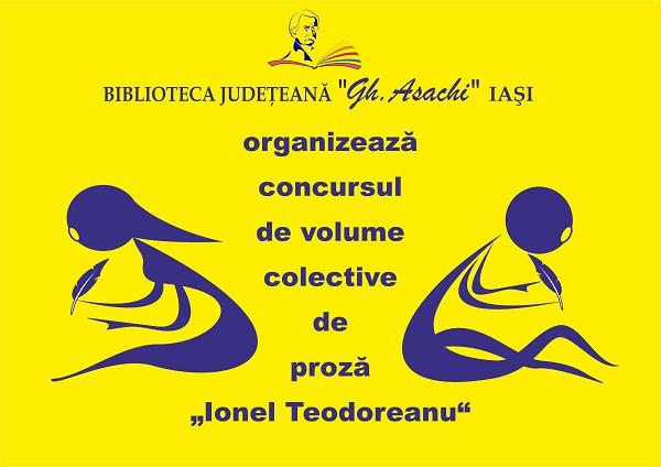 concurs-volum-colectiv-proza-ionel-teodoreanu-biblioteca-judeteana-iasi-afis