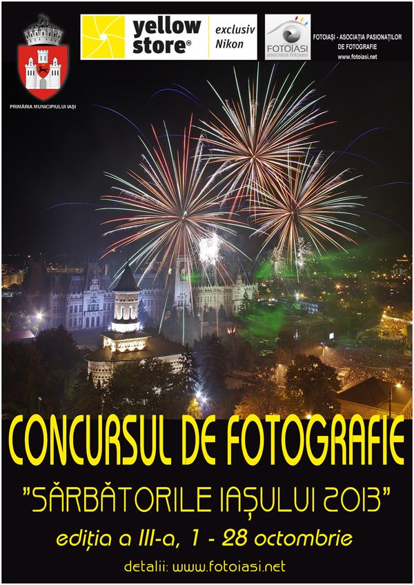 Concurs de fotografie - Sarbatorile Iasului