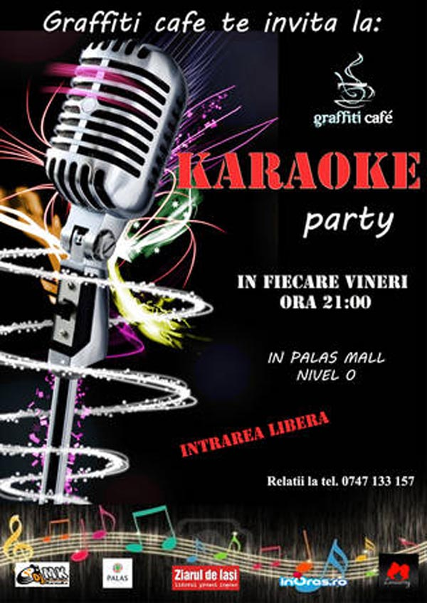 Karaoke Party la Graffiti Cafe