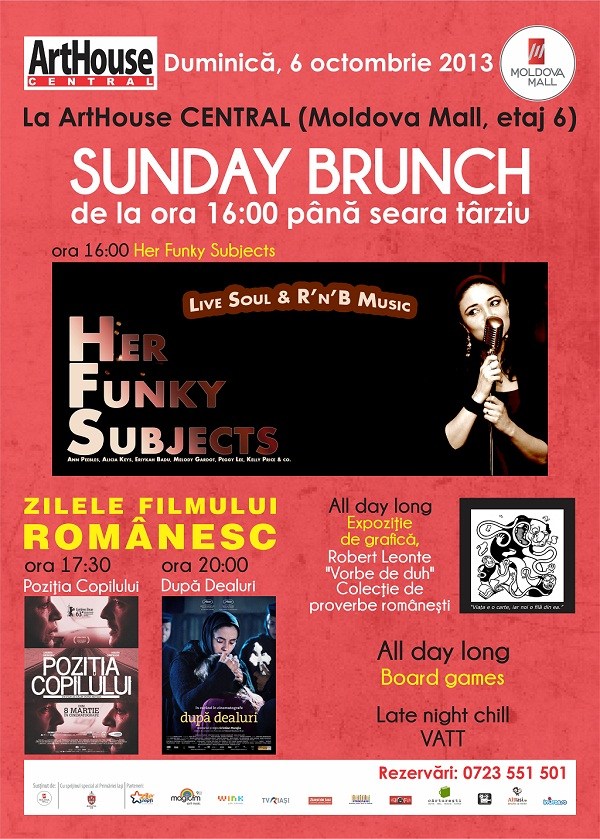 sunday-brunch-arthouse-central-duminica-iasi-afis