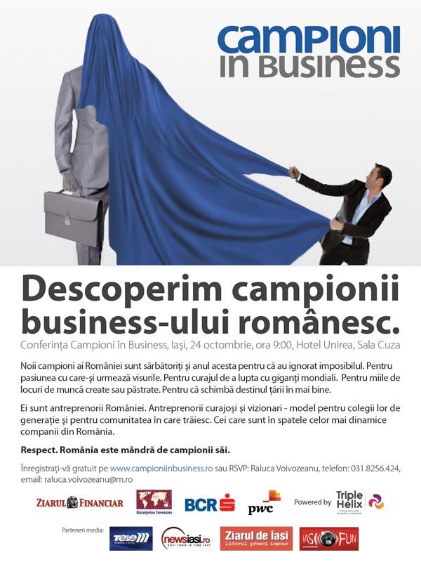 Campioni in business - Iasi