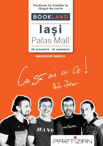 caravana-bookland-iasi-palas-mall-partizan-afis-2013
