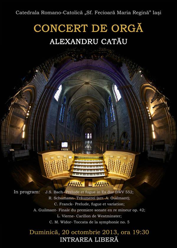 Concert de orga-Alexandru Catau