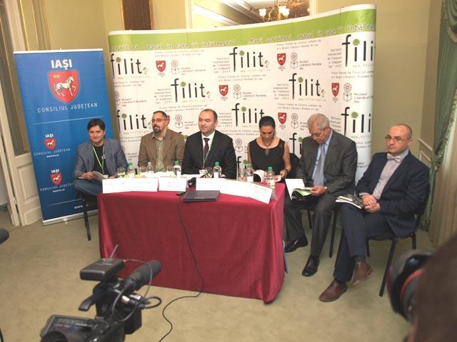 Conferinta de presa - lansare FILIT