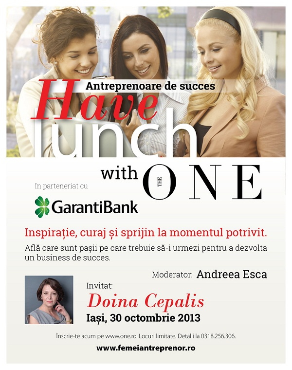 have-lunch-with-the-one-intalnire-iasi-afis-2013-doina-cepalis-andreea-esca