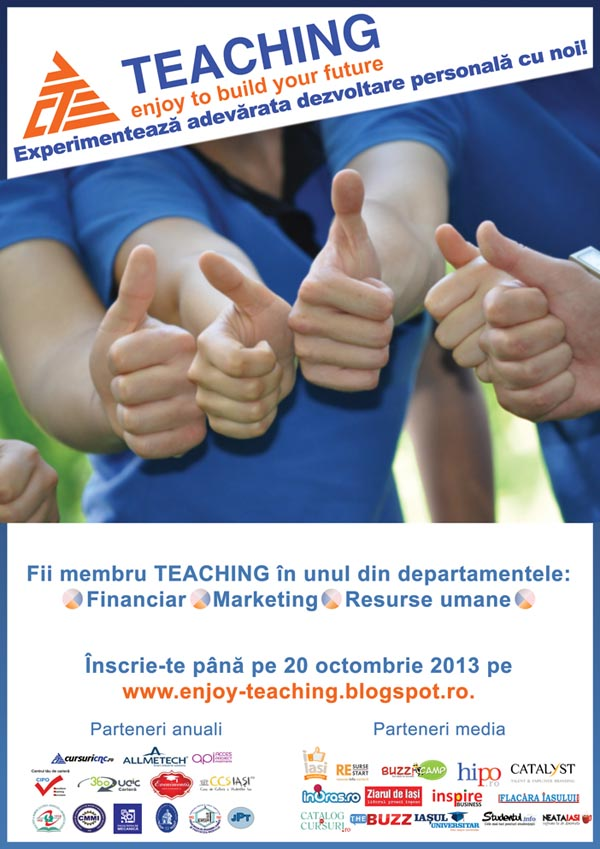 Teaching face recrutari