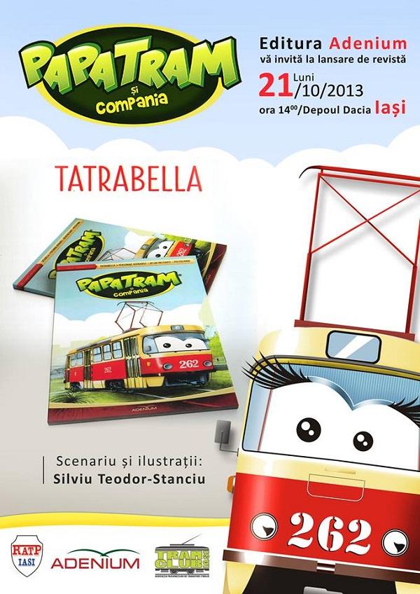 papatram-si-compania-tatrabella-iasi-editura-adenium-revista-copii-afis