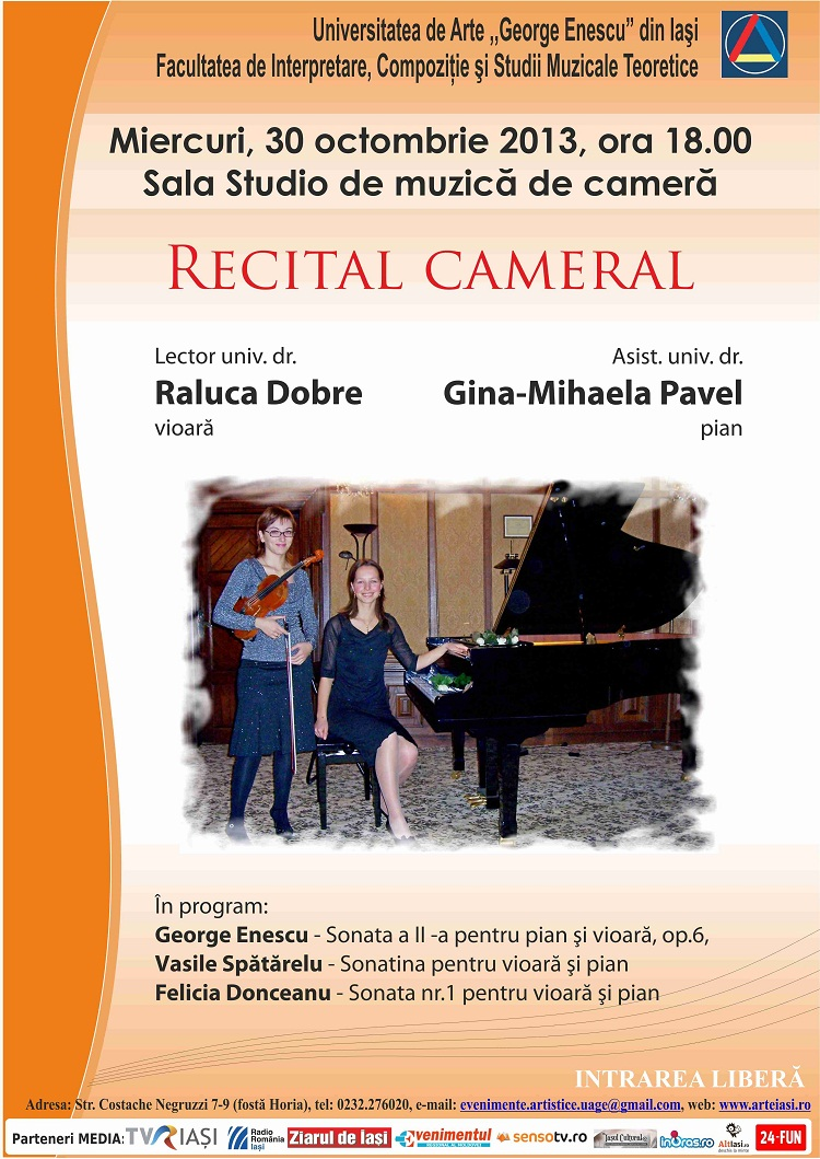 recital-cameral-universitatea-de-arte-george-enescu-iasi-afis-raluca-dobre-gina-mihaela-pavel