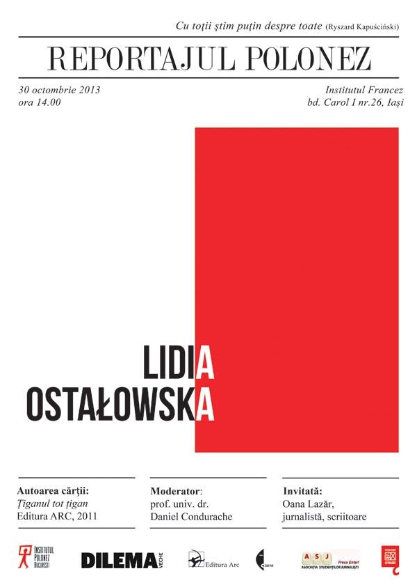ASJ Iasi - Lidia Ostalowska