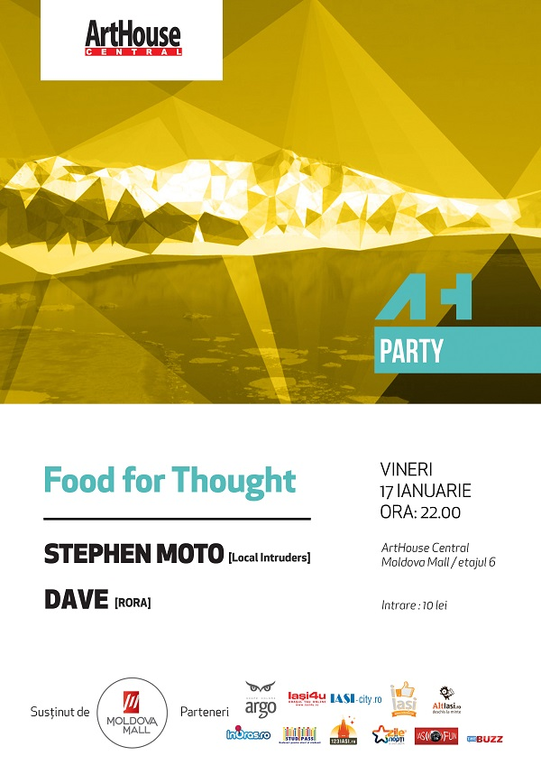 food-for-thought-stephen-moto-dave-arthouse-centra-iasi-17-ianuarie-2014-afis