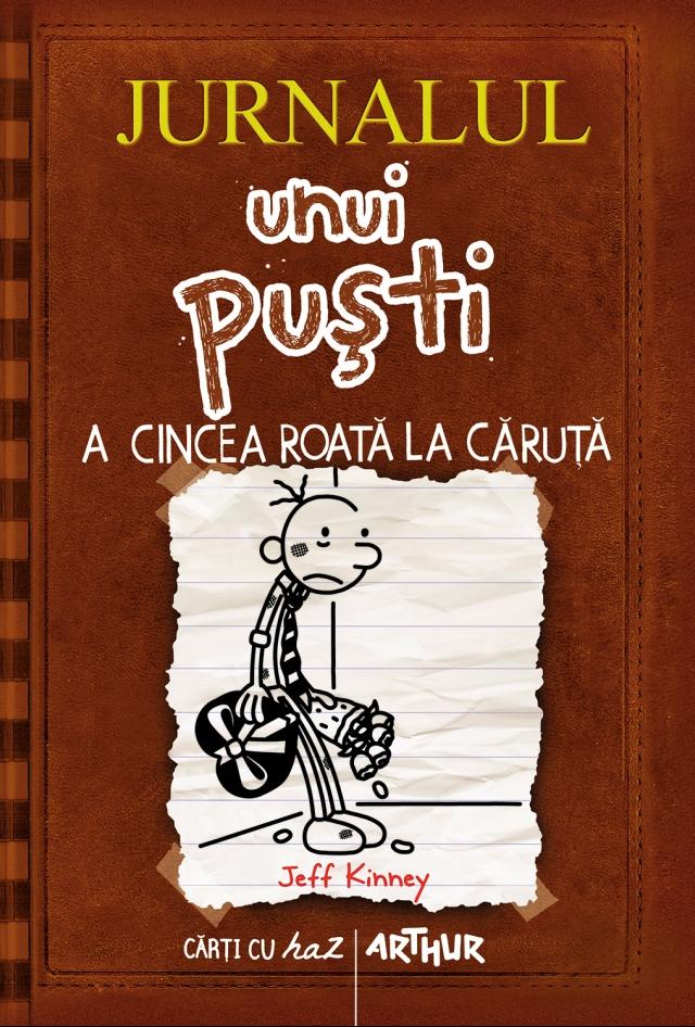jurnalul-unui-pusti-7-a-cincea-roata-la-caruta-coperta-carte-noiembrie-2013