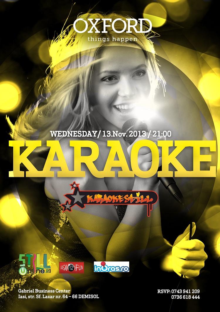 karaoke-oxford-iasi-afis-13-noiembrie-2013