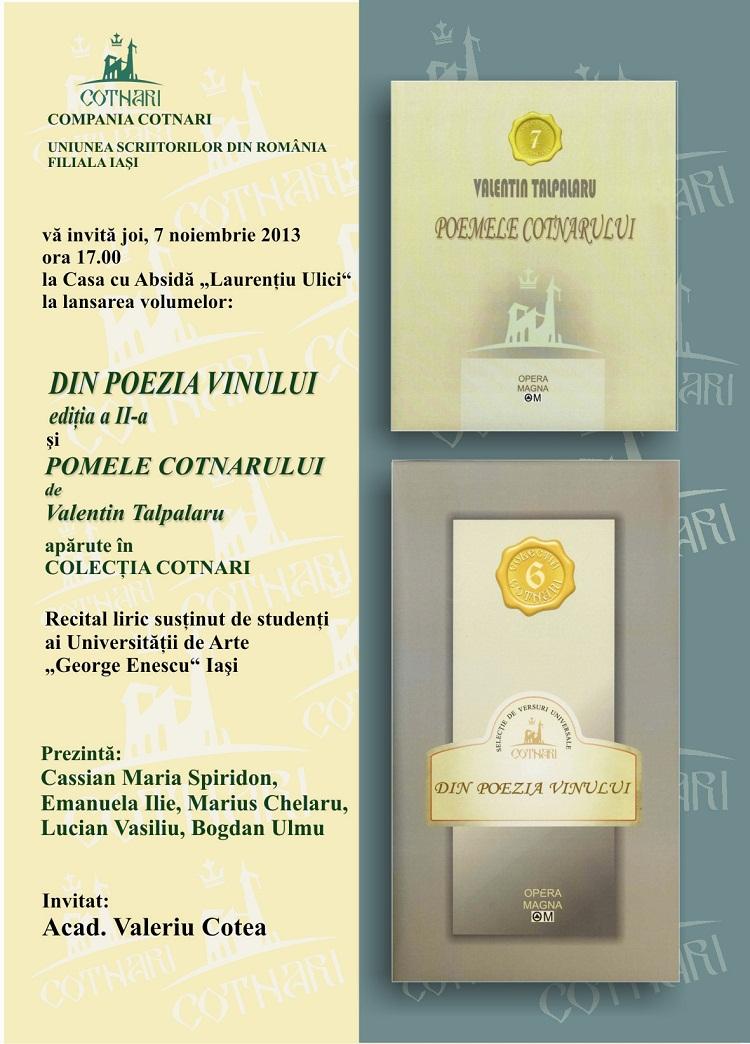 lansare-iasi-poemele-cotnarului-din-poezia-vinului-valentin-talpalaru-afis-2013