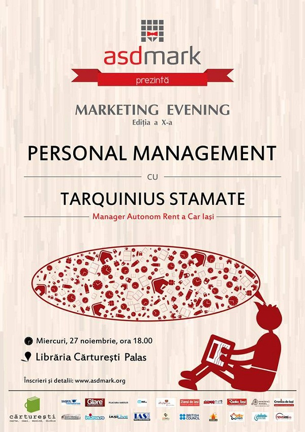 marketing-evening-personal-management-carturesti-palas-iasi-afis-noiembrie-2013