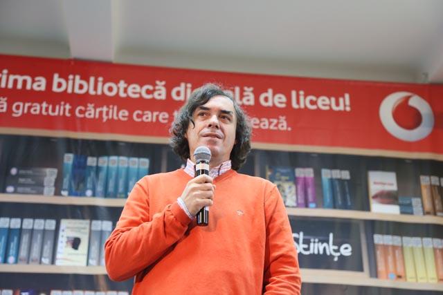 mircea cartarescu- lansare biblioteca digitala